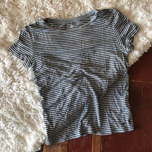 American Eagle | Striped Soft & Sexy Tee